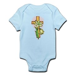 Lily Cross Easter t-shirts, Pretty Easter shirts