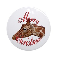 giraffe hanging ornament