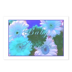 Baby Shower 'Blue Moon' Postcards