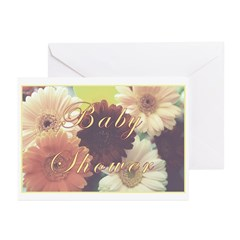 Baby Shower 'Summer Morning' Greeting Cards