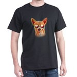 Chihuahua Neon Dog Sunglasses T-Shirt