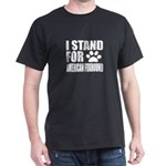 I Stand For American foxhound Dog Des T-Shirt