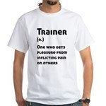Trainer Definition Funny Coach Meaning T-Shirt
