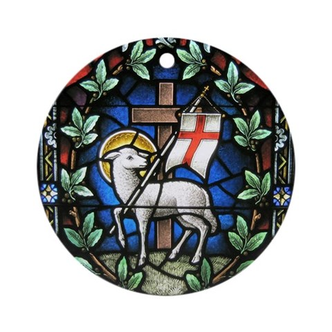 - Lamb of Christ  Round Ornament by CafePress