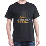 If the Hat Fits Funny Witch Design Hallowe T-Shirt
