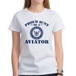 Proud Aunt of a Navy Aviat Tee