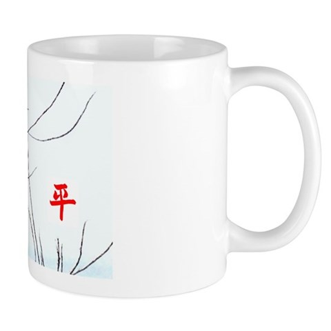 Peace Hummingbird  Peace Mug by CafePress