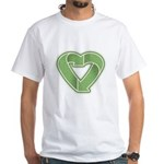 Recycling is Love White T-Shirt