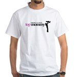 Americas Next Top Mommy White T-Shirt