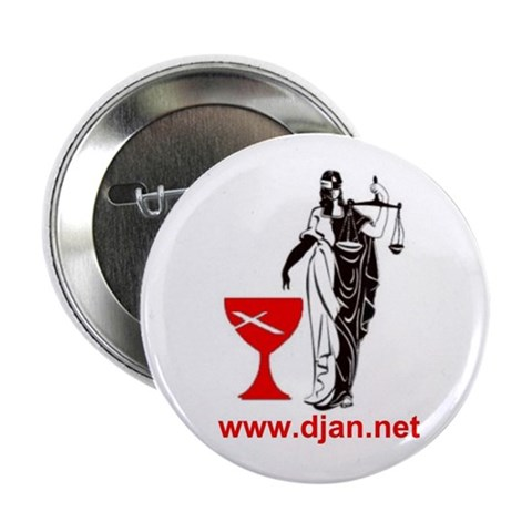 2.25 DJAN Button 100 pack Religion / beliefs 2.25 Button 100 pack by CafePress