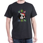 Ugly Xmas Mt Dog Santa T-Shirt