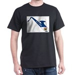 Saxophone Silhouette With West Virginia Fl T-Shirt