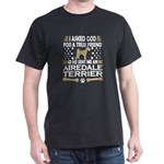 Airedale Terrier Dog Lovers True Friend T-Shirt