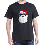Santa Claus LGBTQ Gay Pride Flag Sunglasse T-Shirt