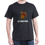 Thanksgiving Turkey Eat More Pizza Funny T-Shirt