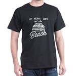 My Heart Lies At The Beach T-Shirt