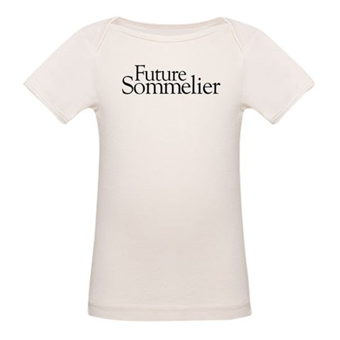 Future Sommelier  Baby Organic Baby T-Shirt by CafePress