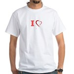 I Love Atomic & Laser Physics T-Shirt