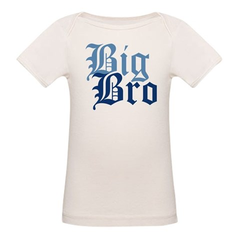 Big Bro  Baby Organic Baby T-Shirt by CafePress