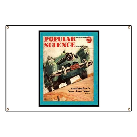 1950 Studebaker Test  Hobbies Banner by CafePress