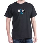 Diabetes Hope Blue Ribbon Diabetes Ribbon T-Shirt