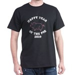 happy year of the pig 2019 Chinese Zodiac T-Shirt