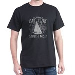 Distressed Marine Sailor Sail Away With Me T-Shirt