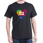 LGBT Rights Rainbow Heart Marriage Equalit T-Shirt