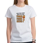 Funny 3 More Beers Drinking T-Shirt