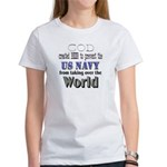 US Navy Beer Women's T-Shirt