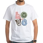 Love Recycle White T-Shirt