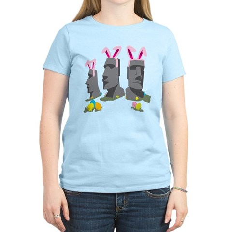 Product Image of Easter Island Women's Light T-Shirt