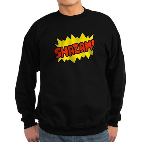 'Shazam'  Humor Sweatshirt dark by CafePress