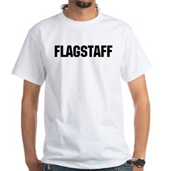 Flagstaff, Arizona White T-Shirt