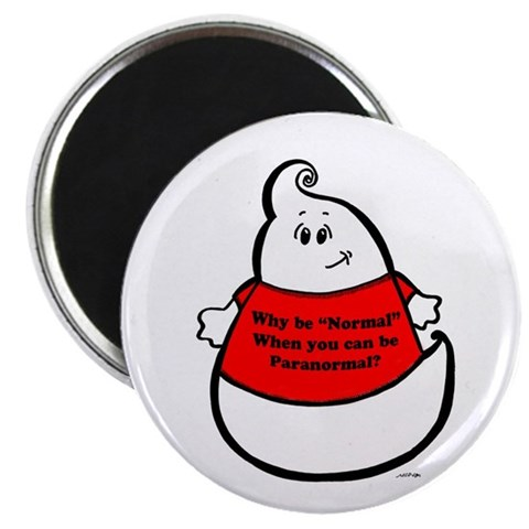 BE PARANORMAL 2.25quot; Magnet 100 pack Halloween 2.25 Magnet 100 pack by CafePress