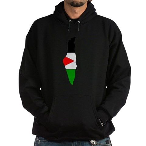 Product Image of Palestine Flag Map Hoodie (dark)