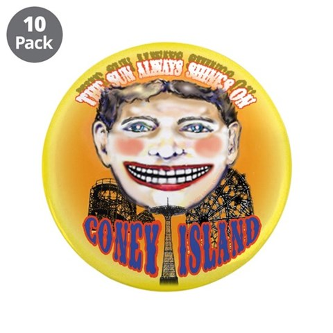 Custom 3.5quot; Button 10 Pack Beach 3.5 Button 10 pack by CafePress