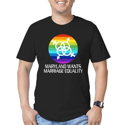 Maryland Wants Marriage Equality tshirt