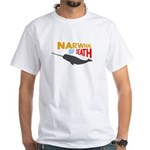 Narwhal of Death White T-Shirt