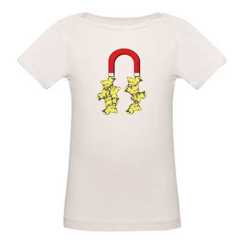 Chick Magnet  Funny Organic Baby T-Shirt by CafePress