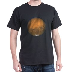 Mars Closes in 60,000 Years Black T-Shirt