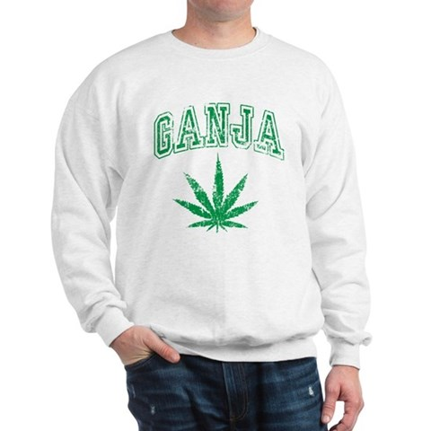 Product Image of Ganja Weed Sweatshirt