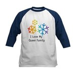 I Love My Queer Family Snow | Gay Families Gifts & T-shirts