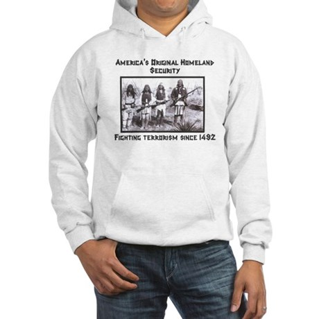 Original Homeland Security Hooded Sweatshirt