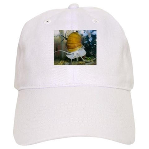 , golden snail Aquarium Cap by CafePress