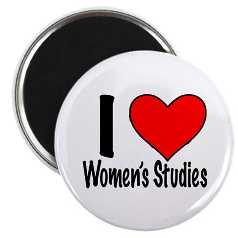 2.25quot; Magnet 10 pack I heart Women's Studie College 2.25 Magnet 10 pack by CafePress