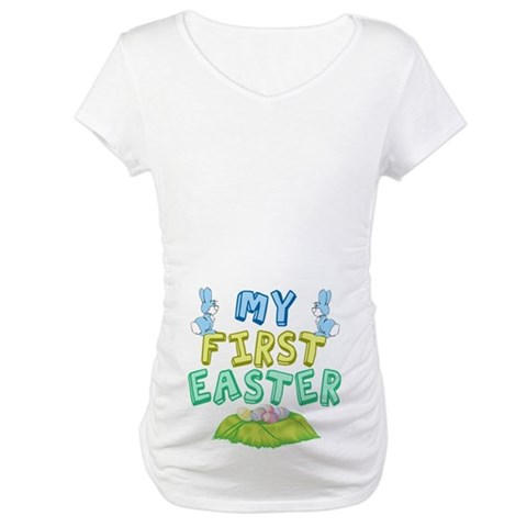 Product Image of My First Easter Maternity T-Shirt