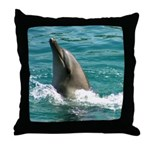 Purity Dolphin Throw Pillow