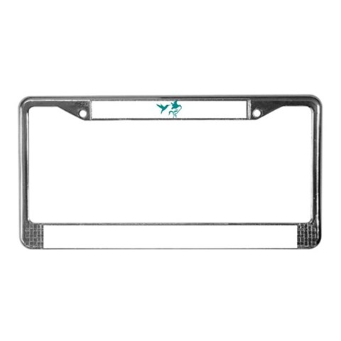 Hummingbird  Animal License Plate Frame by CafePress