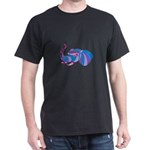Elephant Head Side Low Polygon T-Shirt